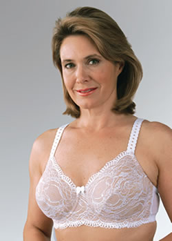 All Over Lace Underwire Bra For Silicone Drag Queen