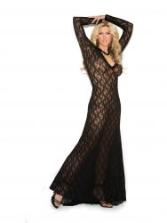 Long Sleeve Lace Gown EM1949X